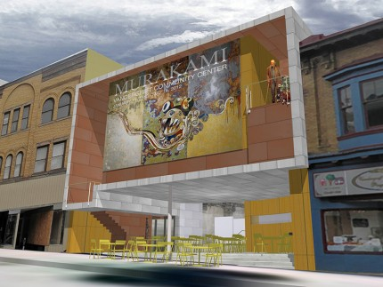 This year's Young Architects Studio Competition (YASC) asks emerging professionals to reimagine the Bayer Billboard site - a Pittsburgh icon in need of a new vision (view solutions at the Design Pgh Gala). For now, enjoy this look at how architects have addressed issues of signage in the built environment. Above: Vandergrift Community Center, by FISHER architecture, with exterior digital billboard to communicate civic info.