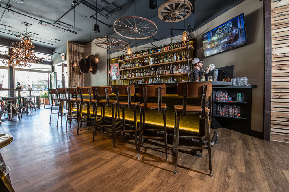 Interior Of BRGR Downtown Pittsburgh At 535 Liberty Avenue. Photo By  Candidly Yours Photography